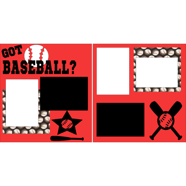 GOT BASEBALL?  -basic page kit