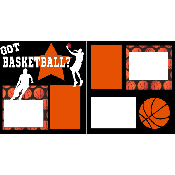 GOT BASKETBALL?  -basic page kit
