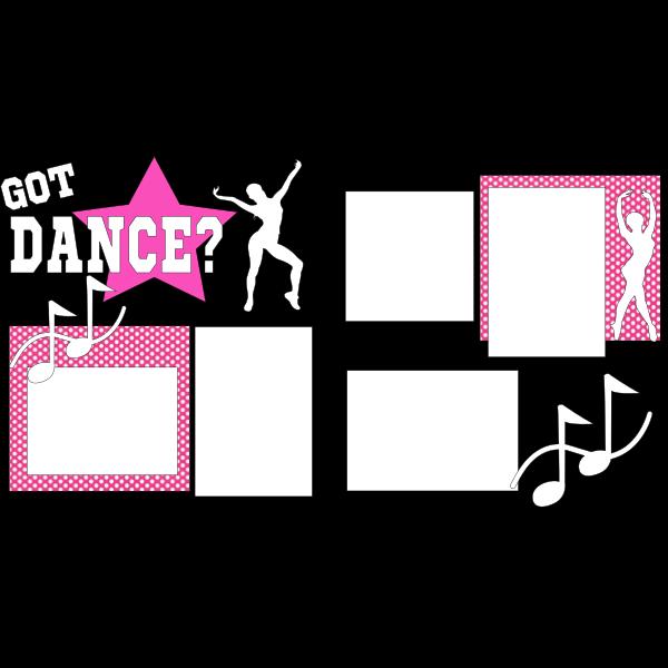GOT Dance?   -basic page kit