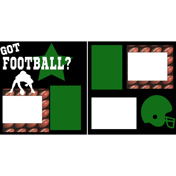 GOT FOOTBALL?  -basic page kit