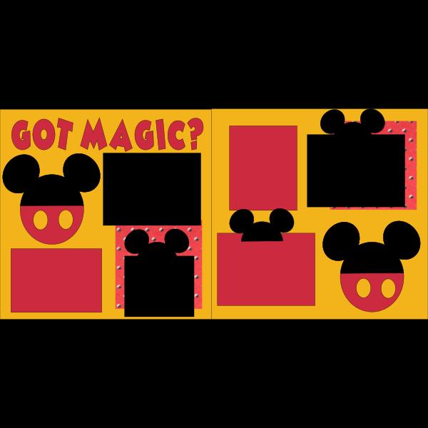 GOT MAGIC?  -DISNEY -basic page kit