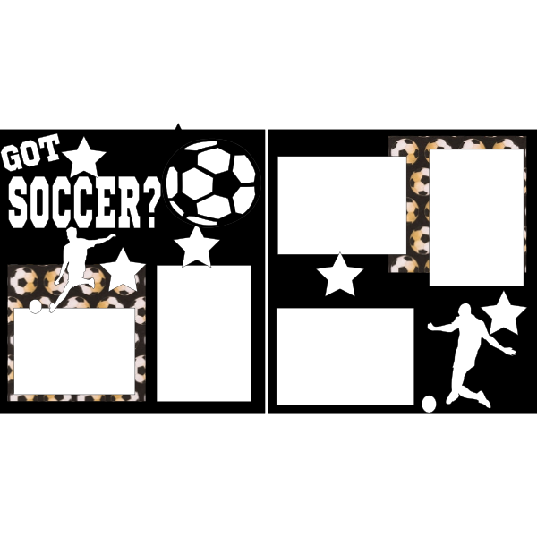 GOT SOCCER?  -basic page kit