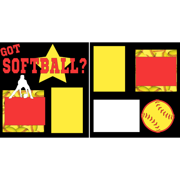 GOT SOFTBALL?  -basic page kit