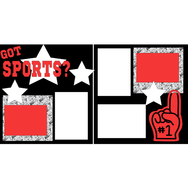GOT SPORTS?  -basic page kit