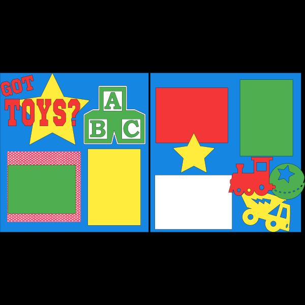 GOT TOYS?  -basic page kit
