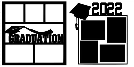 GRADUATION 2022 SET    -  page kit