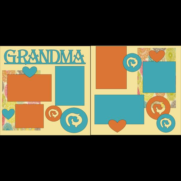 GRANDMA # -basic page kit