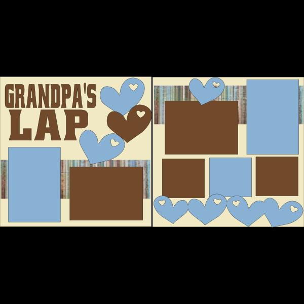 GRANDPA'S LAP  -basic page kit