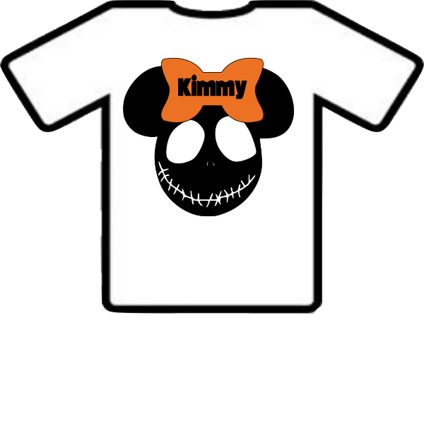 DISNEY HALLOWEEN SHIRT 1