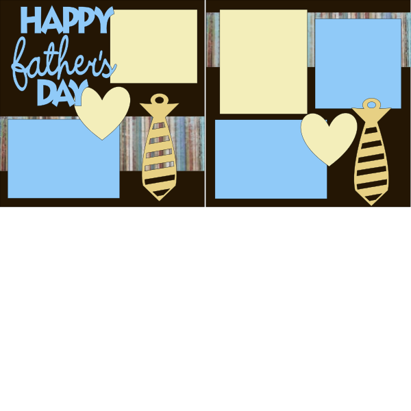 FATHER'S DAY **  -basic page kit