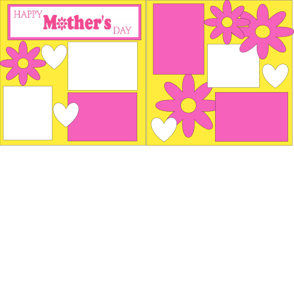 HAPPY MOTHER'S DAY  -basic page kit