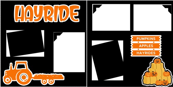 HAYRIDE   -  page kit