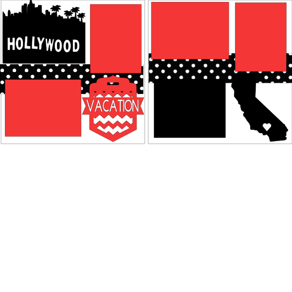 HOLLYWOOD    -basic page kit