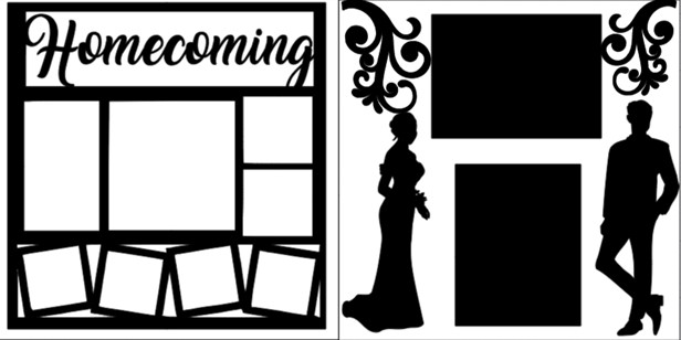 HOMECOMING OVERLAY SET   -  page kit