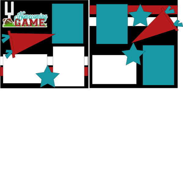 HOMECOMING GAME   -basic page kit