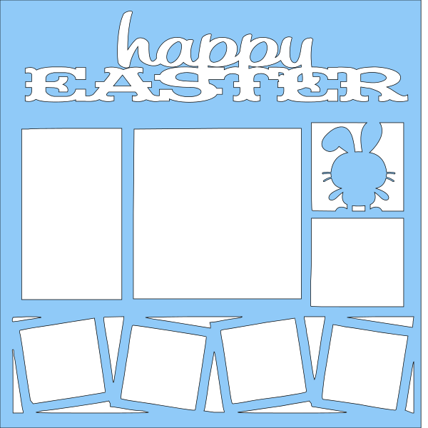 HAPPY EASTER  OVERLAY -1 PAGE