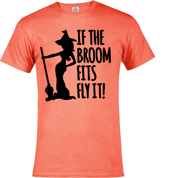 IF THE BROOM FITS TEE