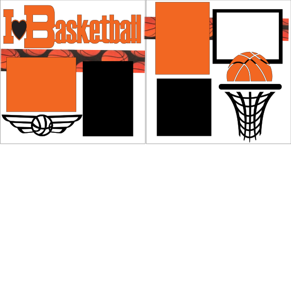 I LOVE BASKETBALL  -   page kit