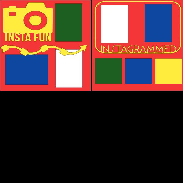 INSTAGRAM FUN   -basic page kit
