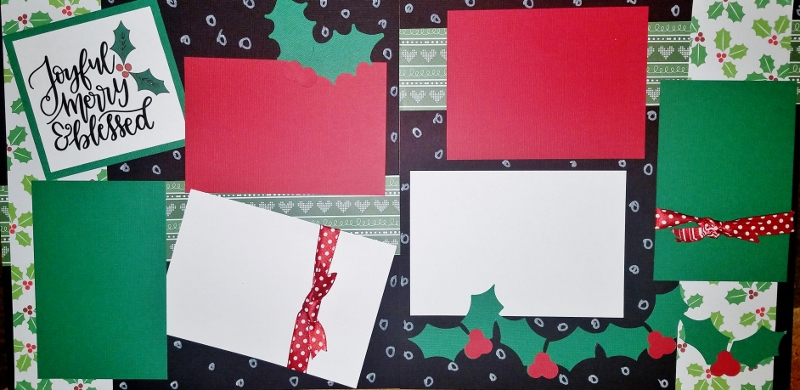 JOYFUL MERRY AND BLESSED  *  Page kit