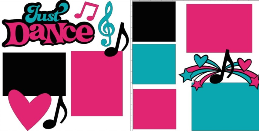 Just Dance (newest) -  page kit