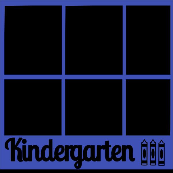 KINDERGARTEN  OVERLAY -1 PAGE