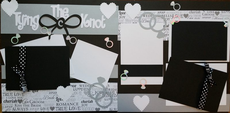 TYING THE KNOT WEDDING   page kit