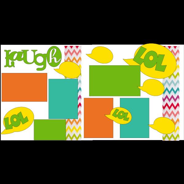 LAUGH  (LOL) -basic page kit