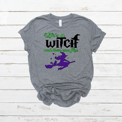 LIFES A WITCH SHORT SLEEVE