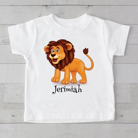 Lion Personalized Graphic T-Shirt