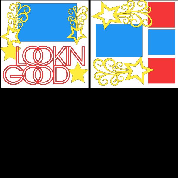 LOOKIN GOOD   -basic page kit