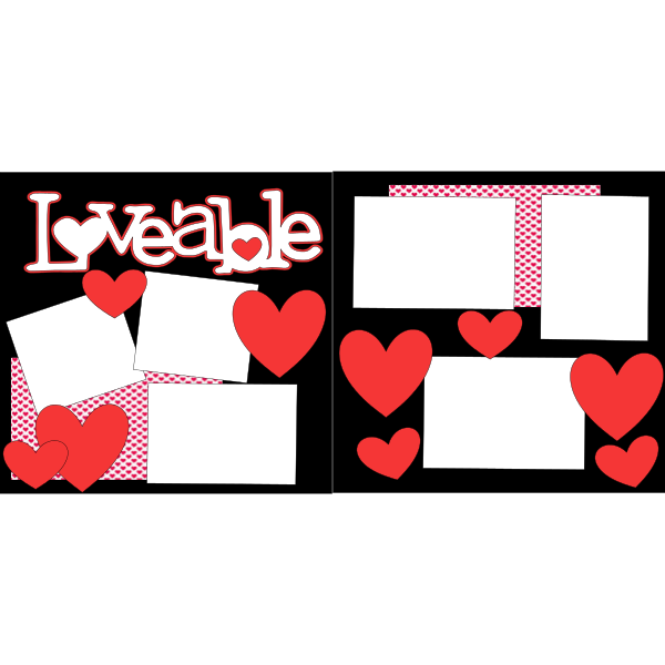 LOVEABLE -basic page kit