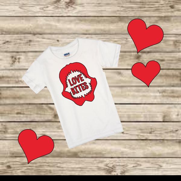 LOVE BITES T-SHIRT