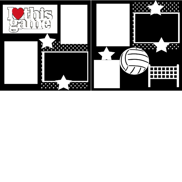 LOVE THIS GAME VOLLEYBALL... Page Kit