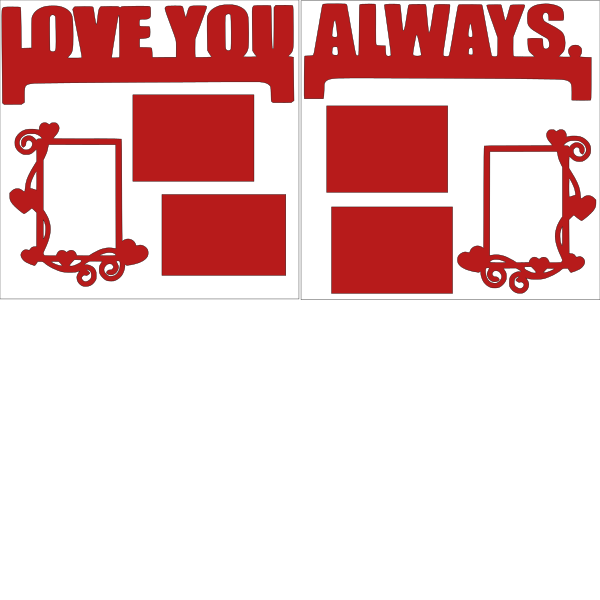 LOVE YOU ALWAYS   -basic page kit