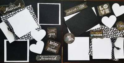 JUST MARRIED PAGE KIT