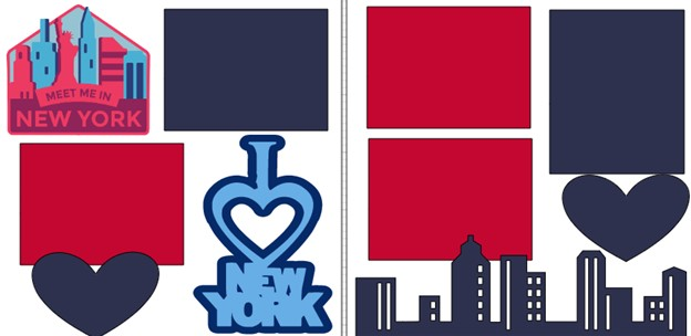 MEET ME IN NEW YORK!      -  page kit