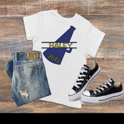 T-SHIRT PERSONALIZED CHEER SHIRT