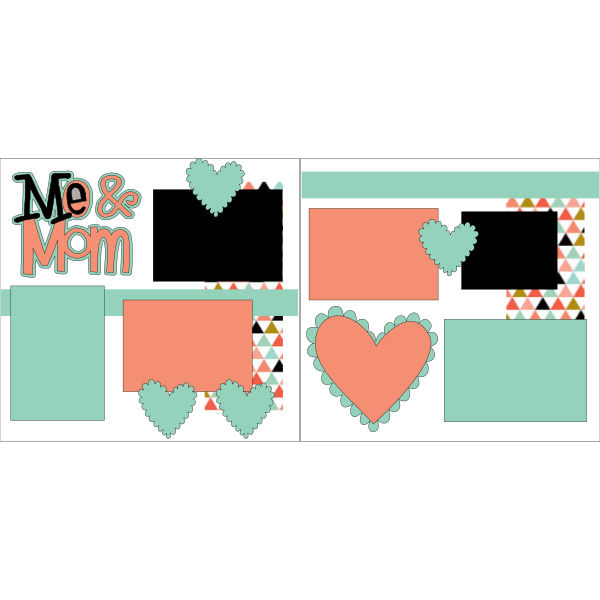 ME & MOM  -basic page kit