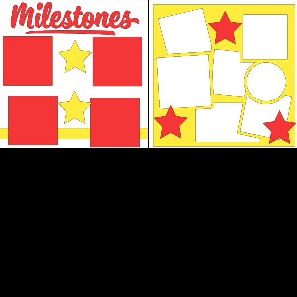 MILESTONES  -basic page kit