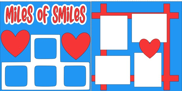 MILES OF SMILES   -  page kit