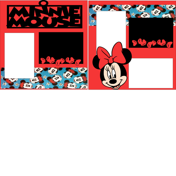 MINNIE MOUSE --  page kit
