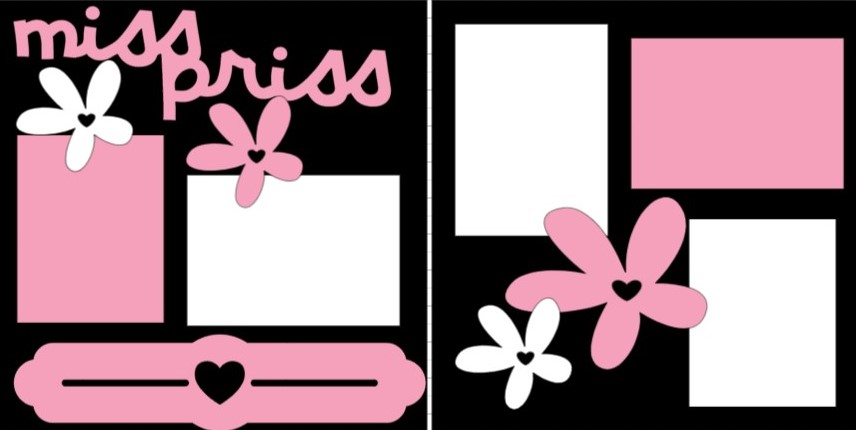MISS. PRISS -  page kit