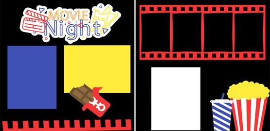 MOVIE NIGHT  -  page kit