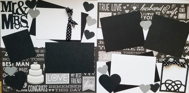 MR. AND MRS WEDDING  page kit