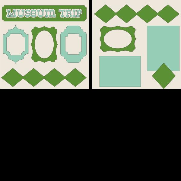 Museum Trip--  page kit