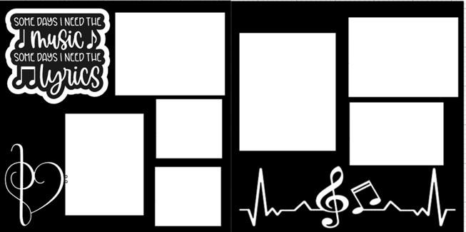 SOME DAYS I NEED MUSIC SOME DAYS I NEED LYRICS -  page kit