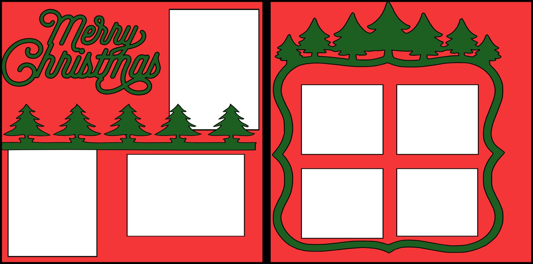 MERRY CHRISTMAS +2  -basic page kit