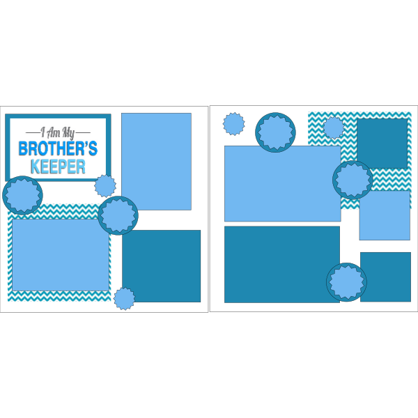 I AM MY BROTHERS KEEPER  -basic page kit
