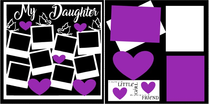 MY DAUGHTER OVERLAY PAGE KIT